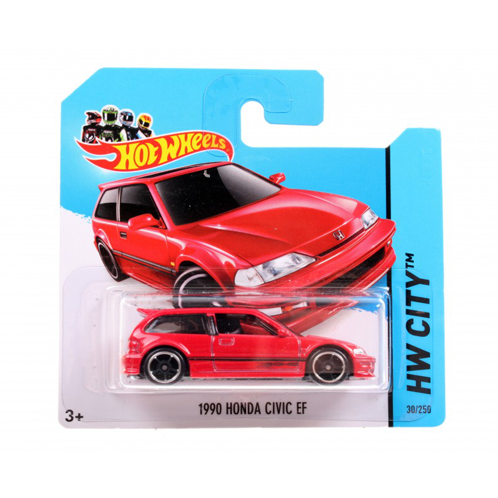 Мотогонщики Hot Wheels для треков 1990 Honda Civic Ef