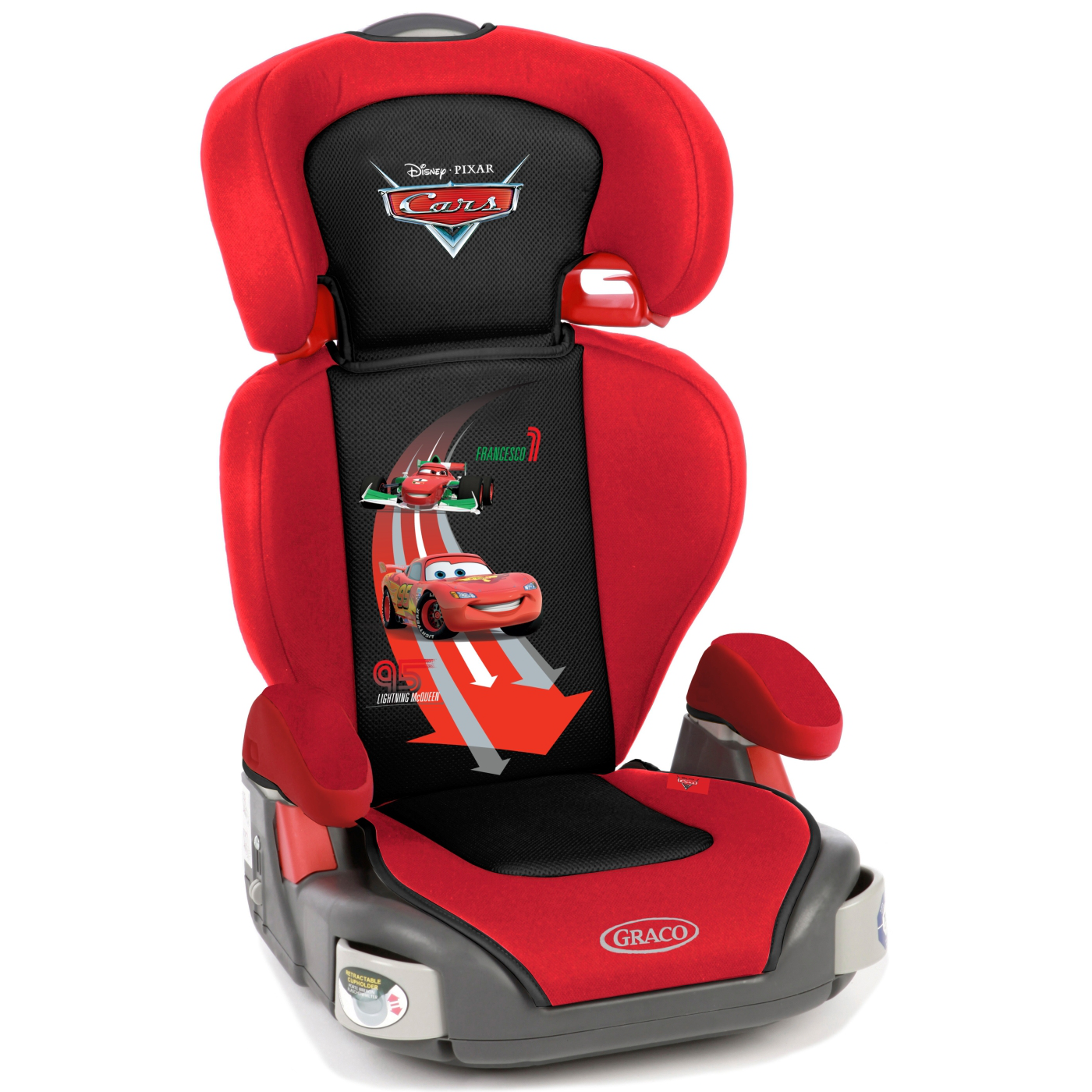 Автокресло Graco Junior Maxi Plus Disney Racing Rivals