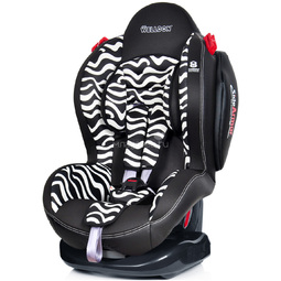 Автокресло Welldon New Smart Sport Side Armor & Cuddle Me BS02-NSCE Zebra