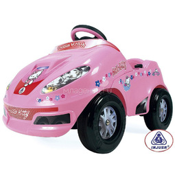 Электромобиль Injusa Speedy Car Hello Kitty 6V