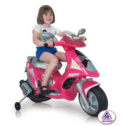 Электромобиль Injusa Scooter Duo Girl 6V