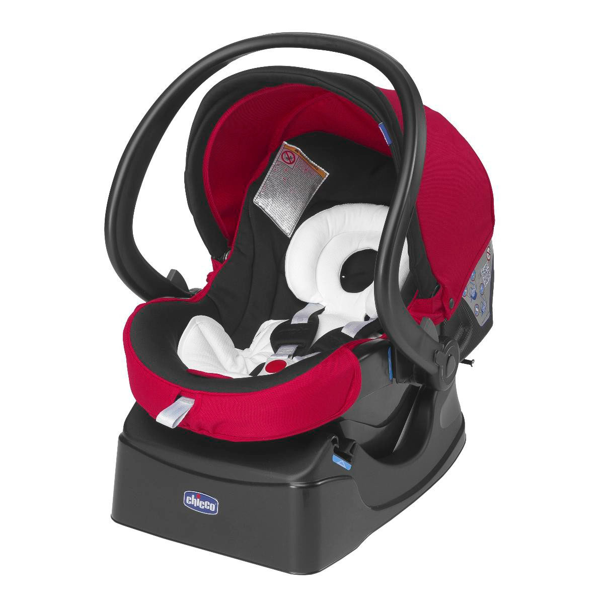 Автокресло Сhicco Auto-Fix Fast Baby Red Mave (Chicco)