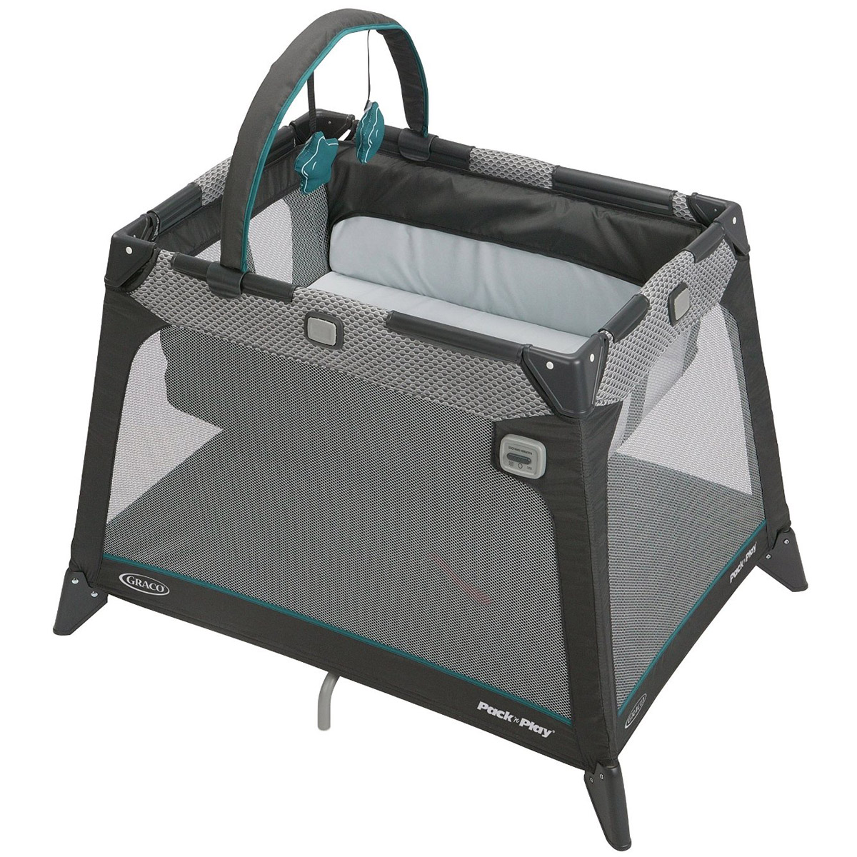 Манеж-кровать Graco Nimble Nook Nook Grey