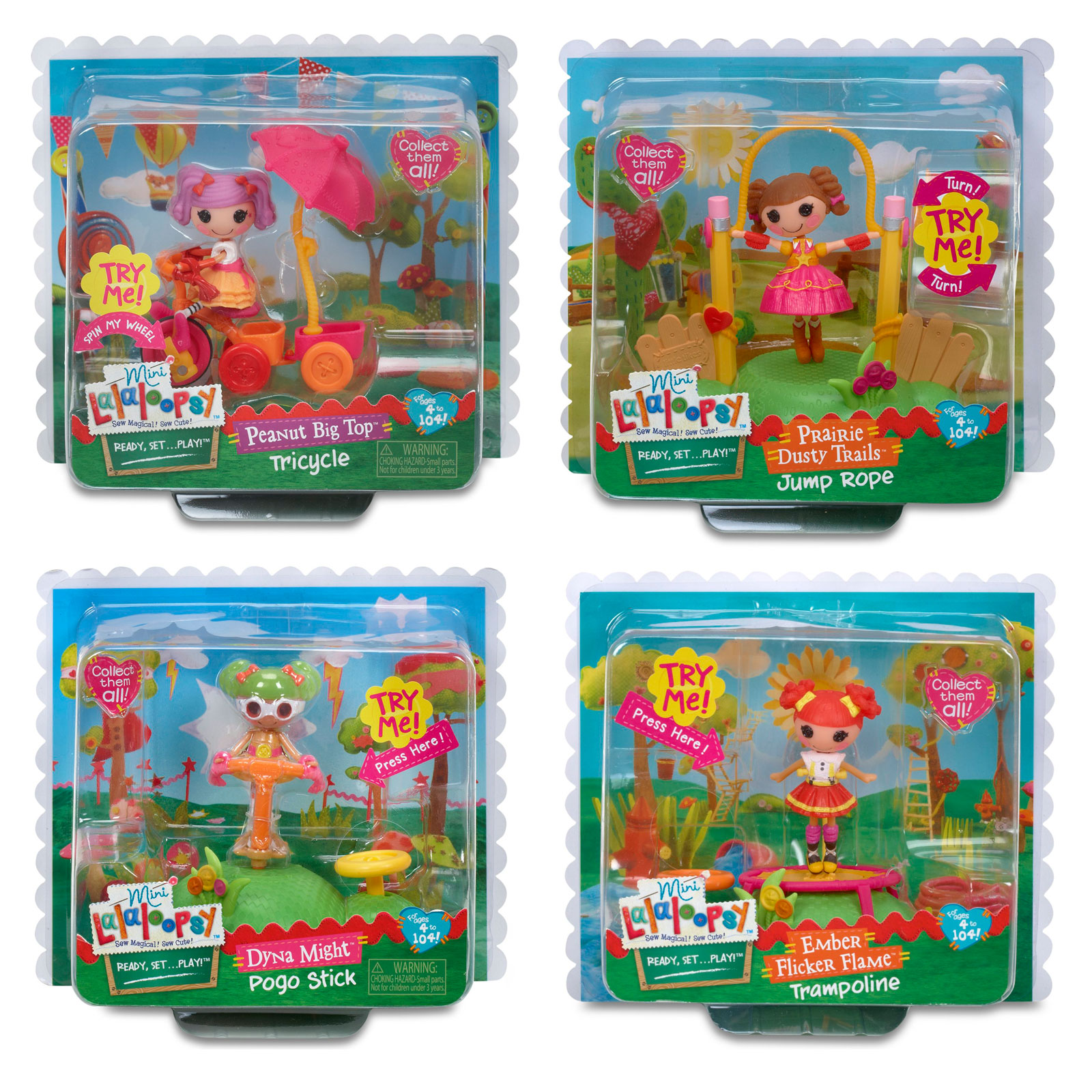 Кукла Mini Lalaloopsy Веселый спорт