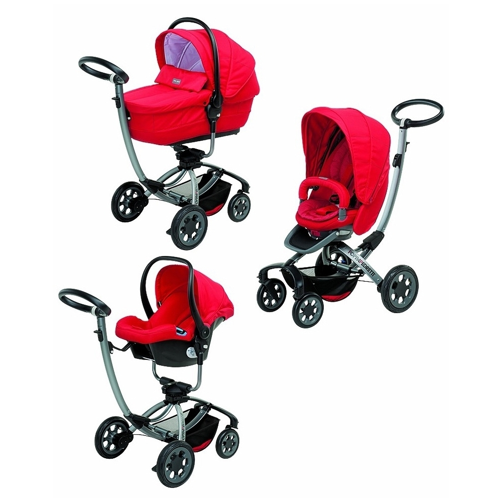 Коляска 3 в 1 Foppapedretti Myo Travel System SimplyRed