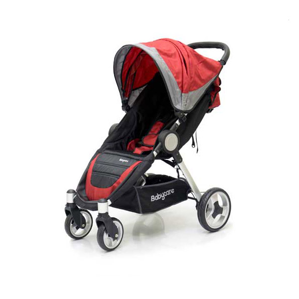 Коляскa Baby Care Variant 4 red