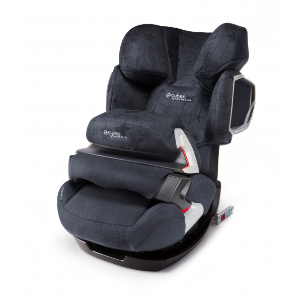 Автокресло Cybex Pallas 2-Fix Denim By Lala Berlin Blue