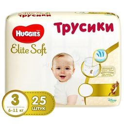 Трусики Huggies Elite Soft 6-11кг 25 шт