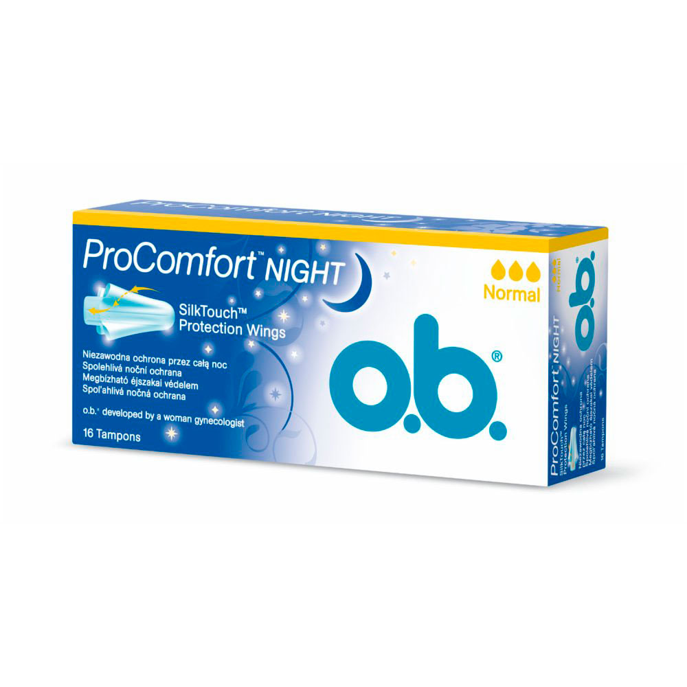 Тампоны o.b. ProComfort Night Normal 16 шт
