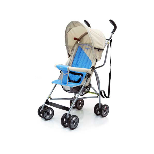 Коляска Baby Care Vento ligt grey blue