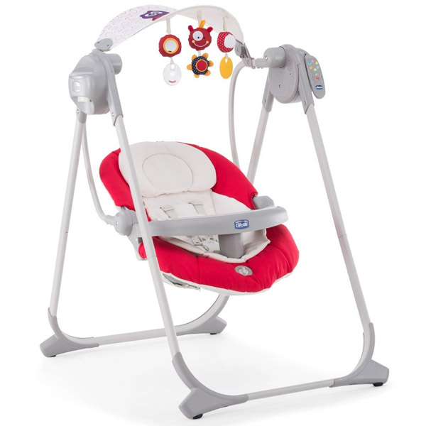 Электрокачели Chicco Polly Swing Up Paprika