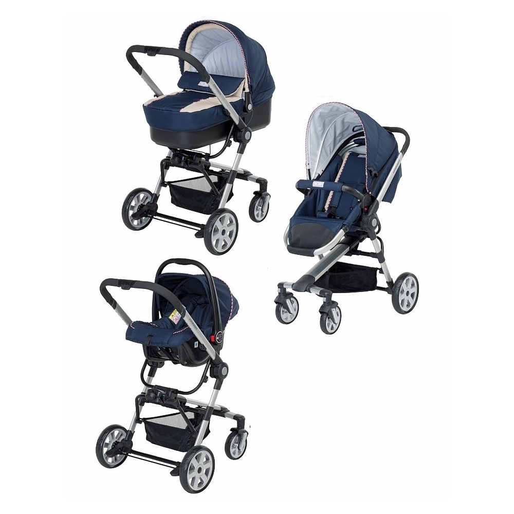 Коляска 3 в 1 Foppapedretti Tres Travel System Mirtillo