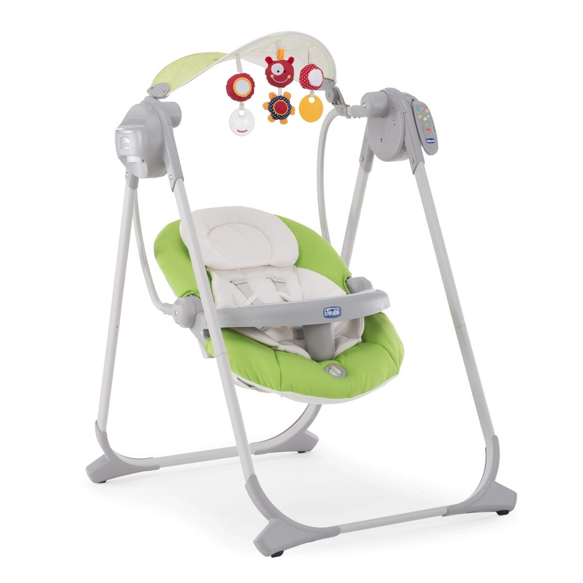 Электрокачели Chicco Polly Swing Up Green