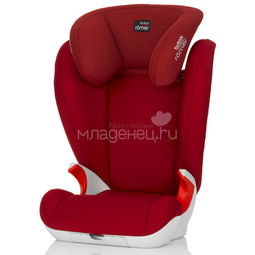 Автокресло Britax Roemer Kid II Flame Red Trendline