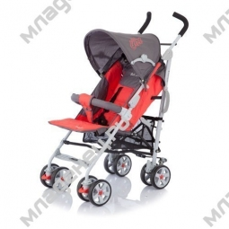 Коляскa Baby Care POLO dark gray red