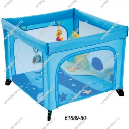 Манеж-кровать Chicco Open Sea Square Playpen Sea Dreams