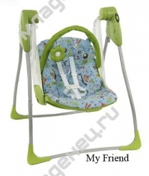 Электрокачели Graco Baby Delight My Friends