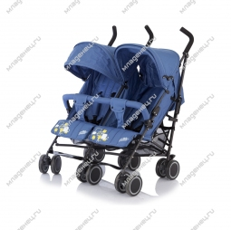 Коляскa Baby Care City Twin blue