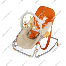 Шезлонг Brevi Baby Rocker Soft Toy 98