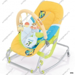 Шезлонг Brevi Baby Rocker Soft Toy 96
