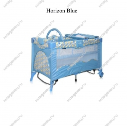 Манеж-кровать Bertoni Travel Kid Rocker Horizon Blue