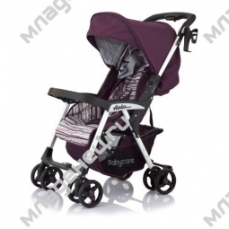 Коляскa Baby Care Avia purple полоски