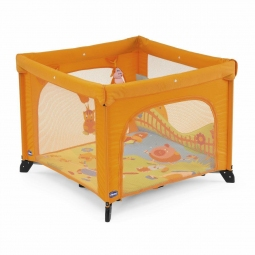 Манеж-кровать Chicco Open Sea Square Playpen Friends